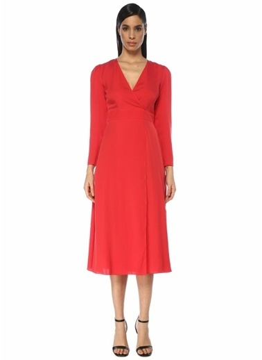 Academia Elbise Kırmızı